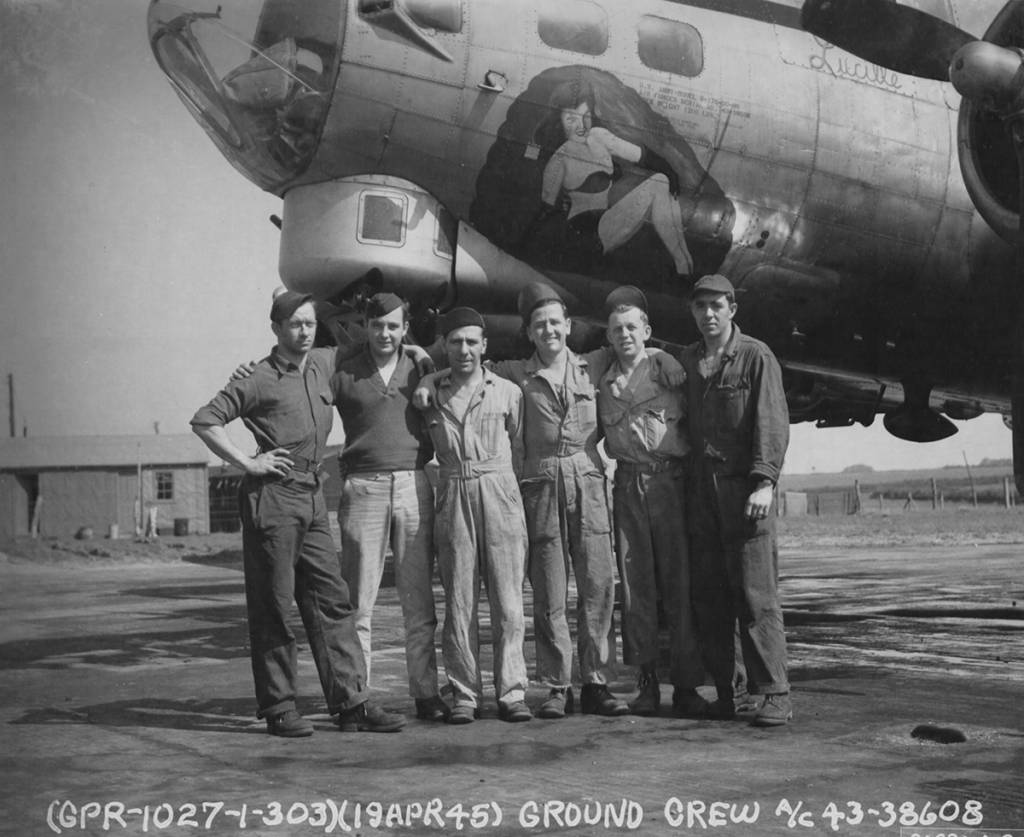 B-17 #43-38608 / Lucille