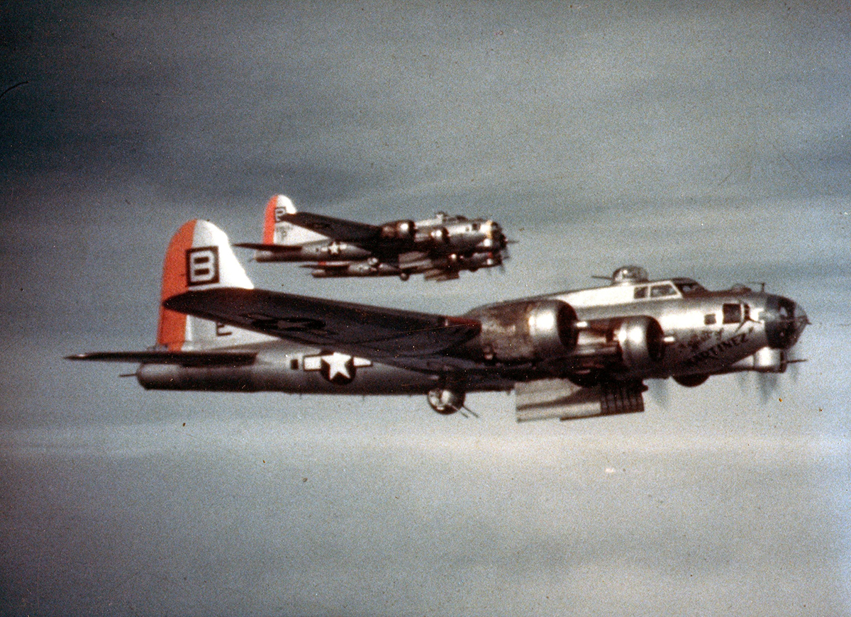 B-17 #44-6838 / Spirit of Martinez