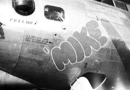 B-17 #44-8824 / Mike