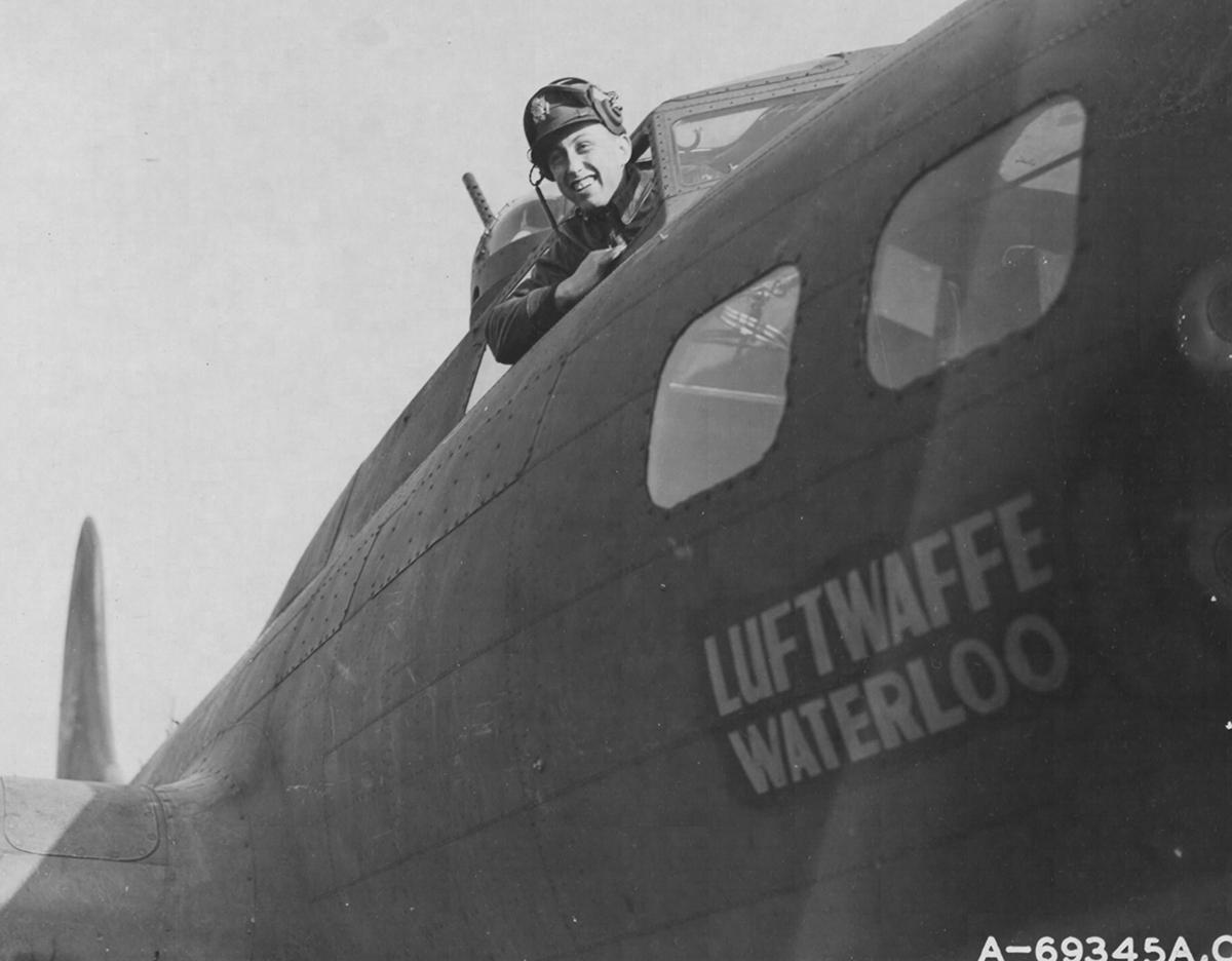 B-17 #41-24545 / Luftwaffe's Waterloo aka Motise