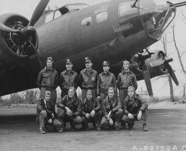 B-17 #41-24547 / Vertigo