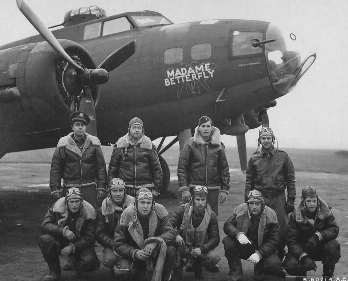 B-17 #41-24624 / Madame Betterfly