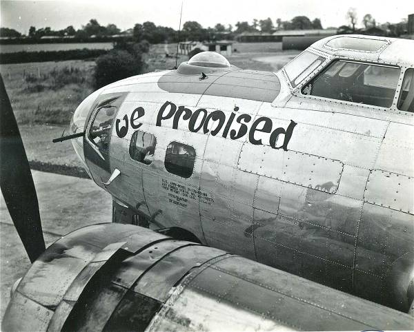 B-17 #42-102578 / We Promised