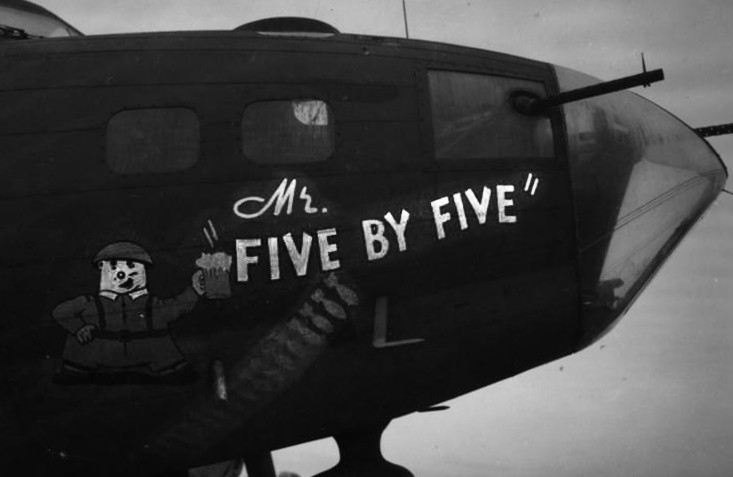 B-17 #42-29717 / Mr. Five by Five