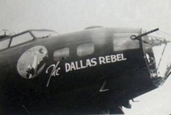 B-17 #42-29814 / Dallas Rebel