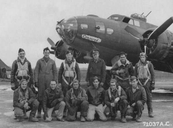 B-17 #42-29897 / Censored aka Forequetoo