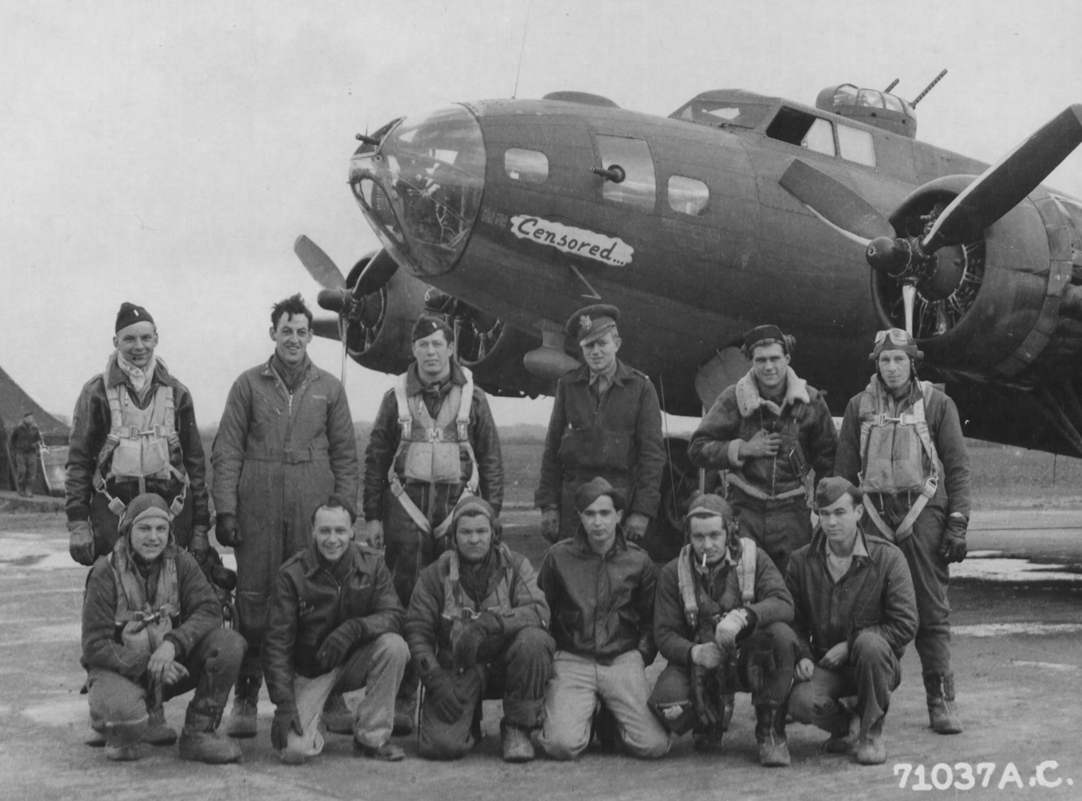 B-17 #42-29897 / Censored aka Forequetoo