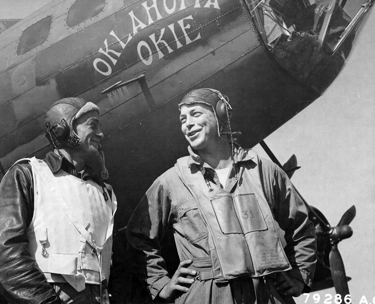 B-17 #42-29921 / Oklahoma Okie