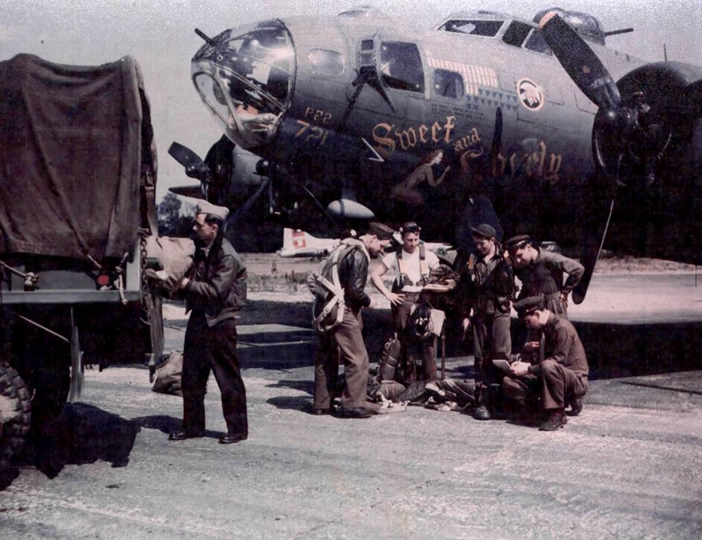 B-17 #42-30721 / Sweet and Lovely