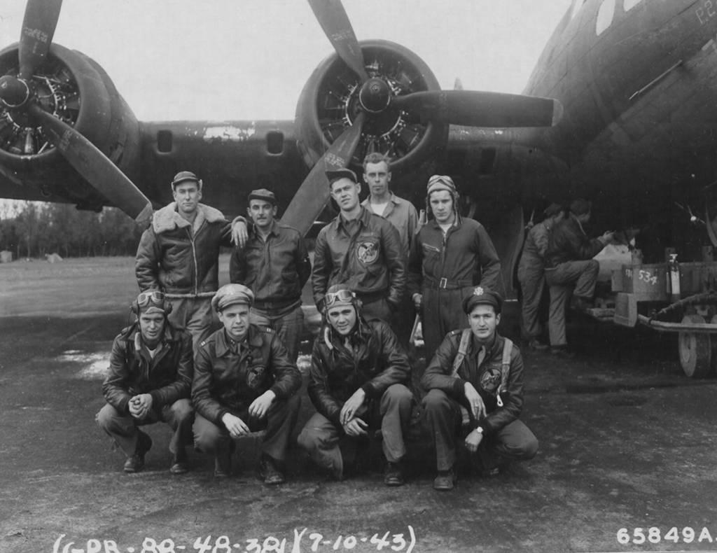 B-17 #42-30722 / Bobby T