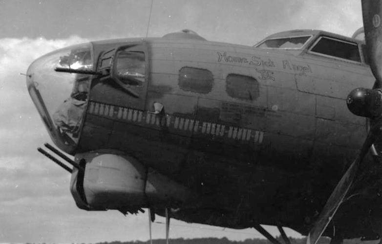 B-17 #42-31907 / Homesick Angel II