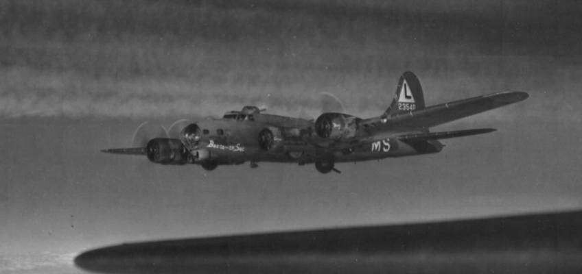 Boeing B-17 #42-3540 / Bacta-th'-Sac aka Lucifer Jr II