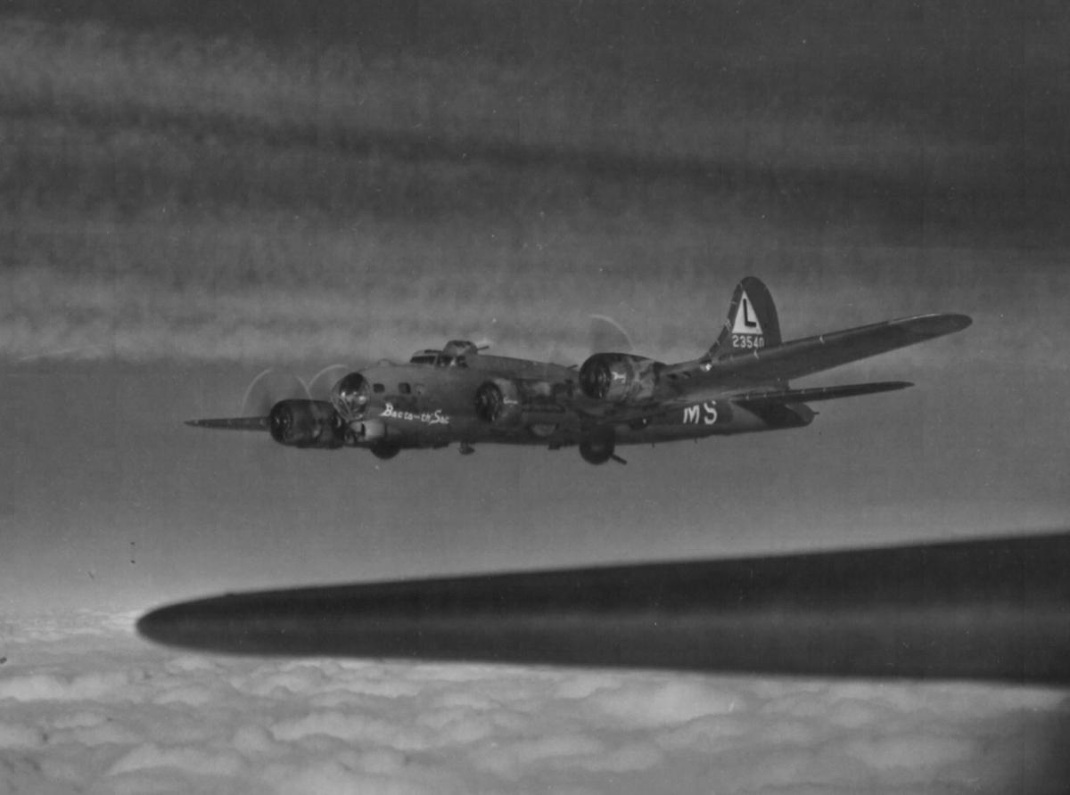 B-17 #42-3540 / Bacta-th'-Sac aka Lucifer Jr II