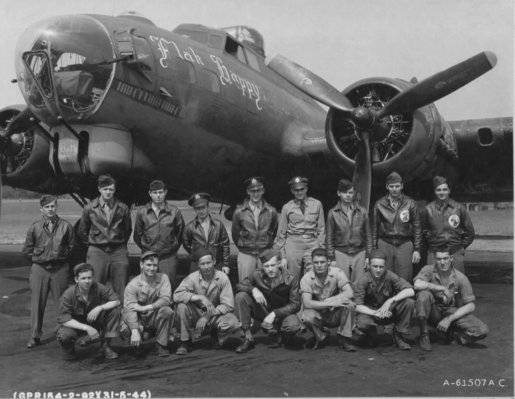 B-17 #42-38025 / Flak Happy
