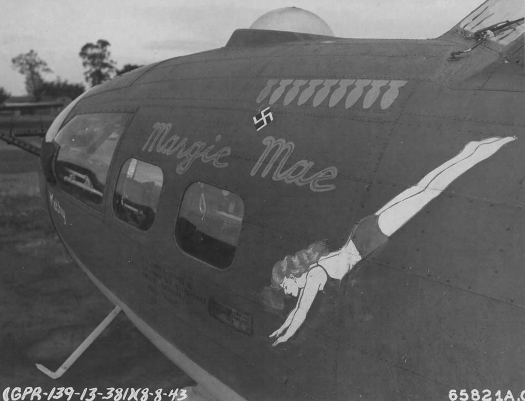B-17 #42-5847 / Margie Mae