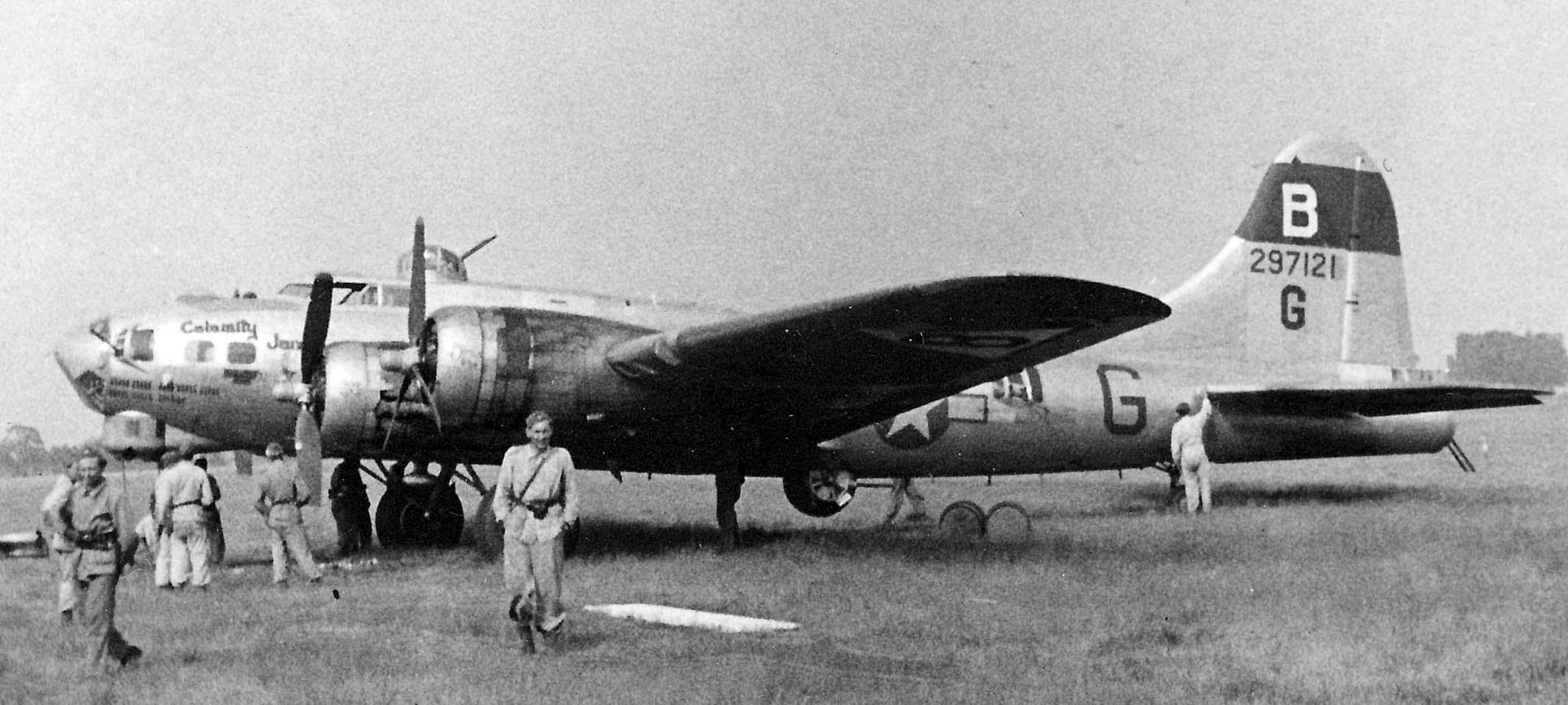 B-17 #42-97121 / Calamity Jane