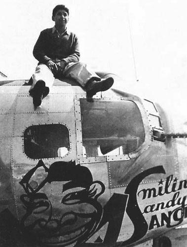 B-17 #42-97290 / Smilin' Sandy Sanchez