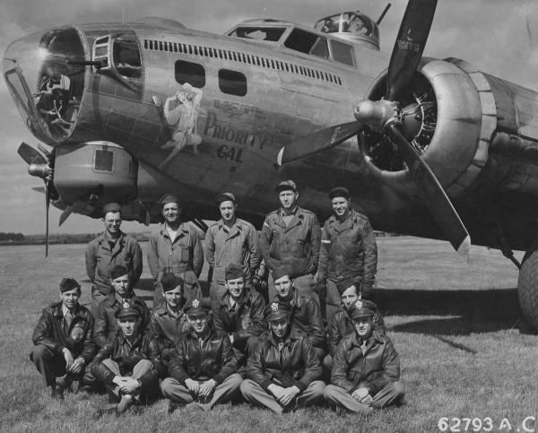 B-17 #42-97304 / Priority Gal