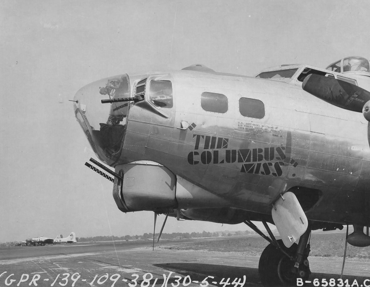 B-17 #42-97313 / The Columbus Miss