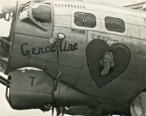 B-17 #42-97630 / Peg O' My heart aka Geraldine