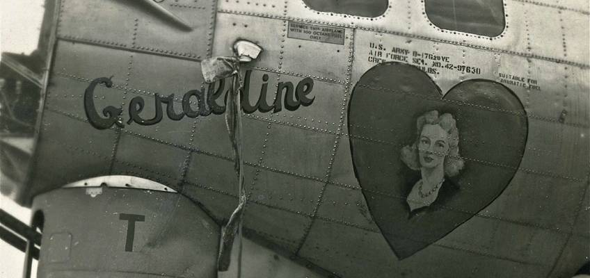 Boeing B-17 #42-97630 / Peg O' My heart aka Geraldine