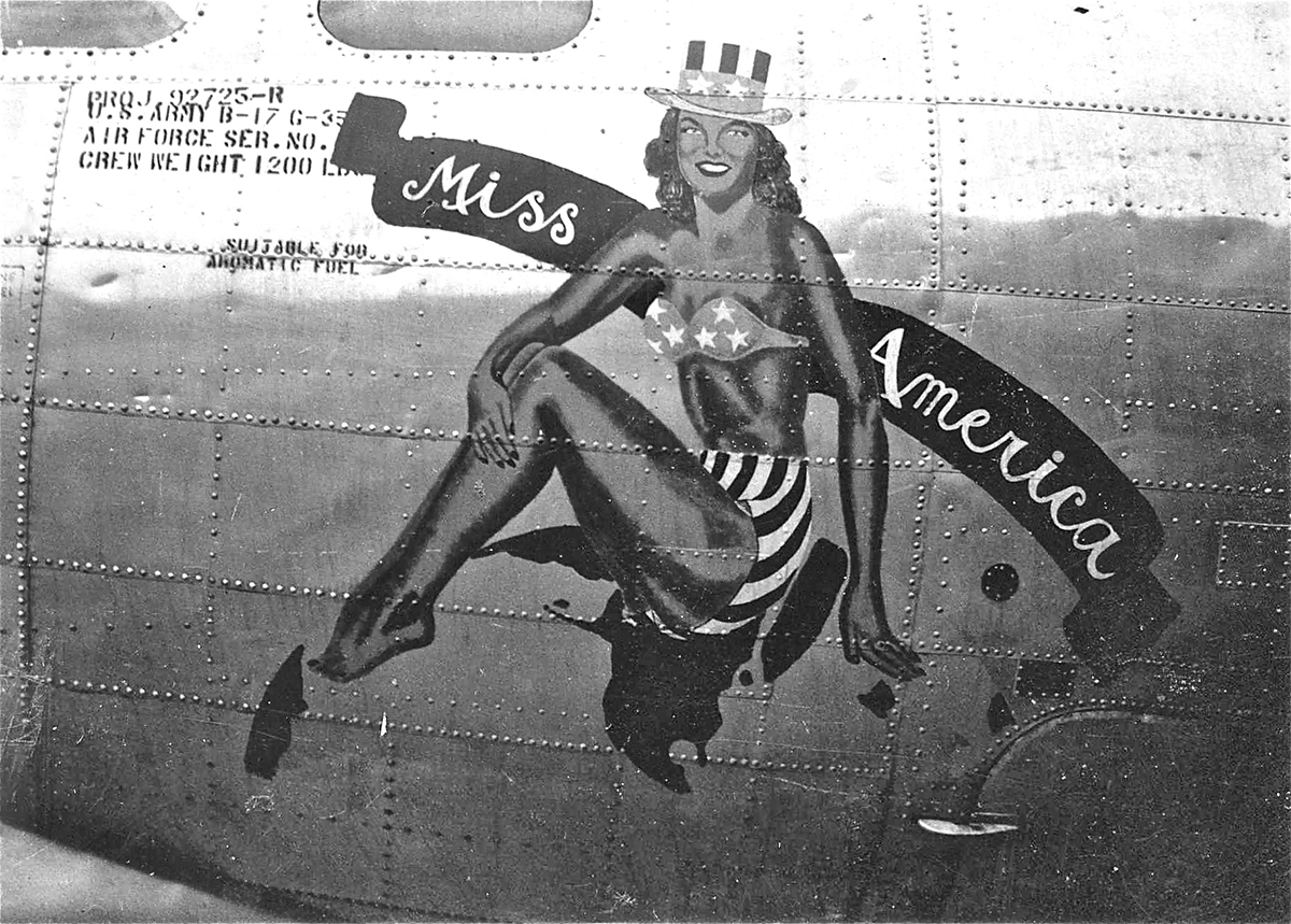 B-17 #42-97896 / Miss America