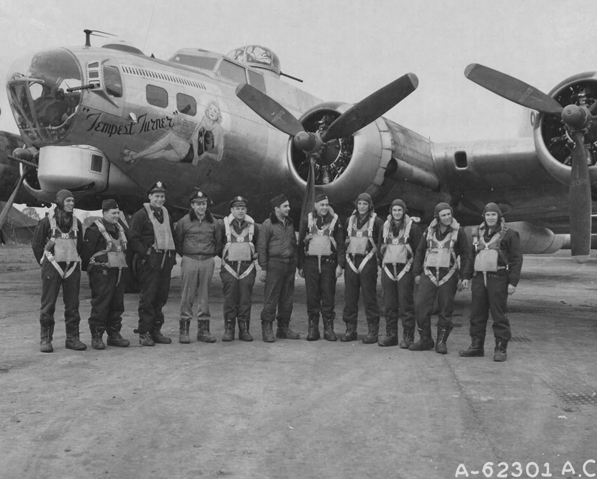 B-17 #43-38216 / Tempest Turner