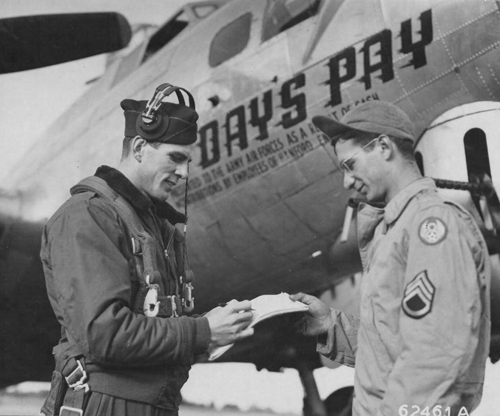 B-17 #43-38223 / Day's Pay