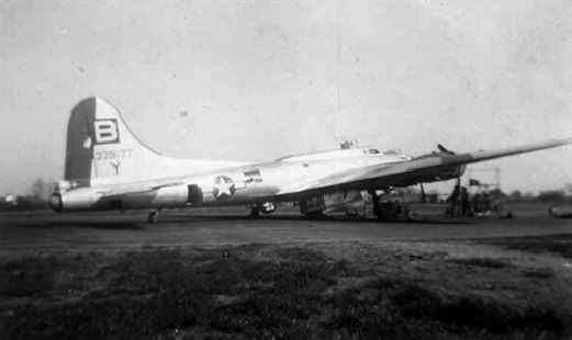 B-17 #43-39177 / The Blessed Event