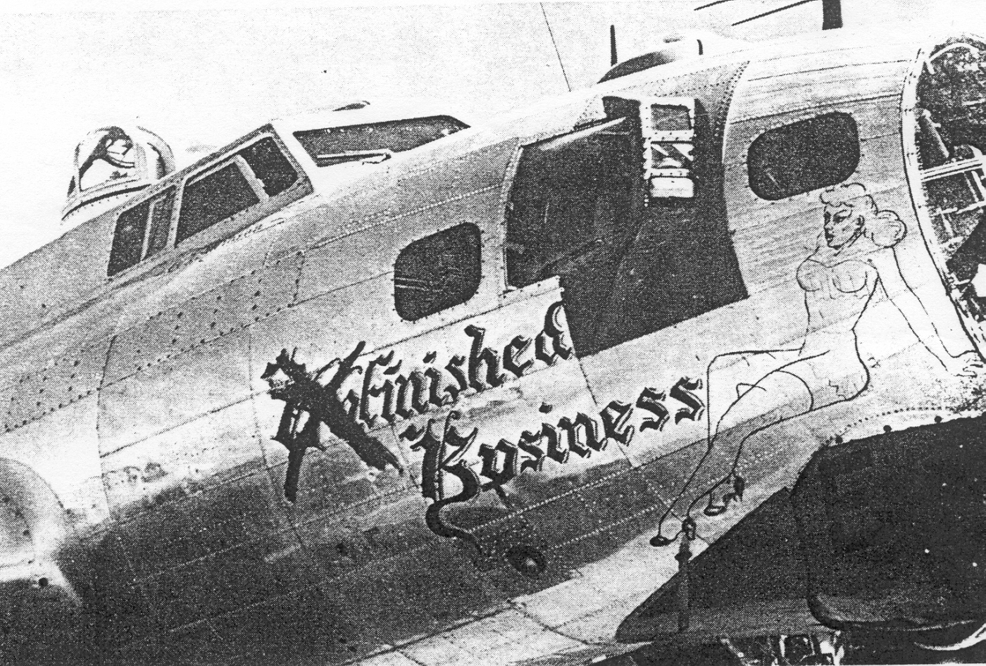 B-17 #43-39249 / Unfinished Business