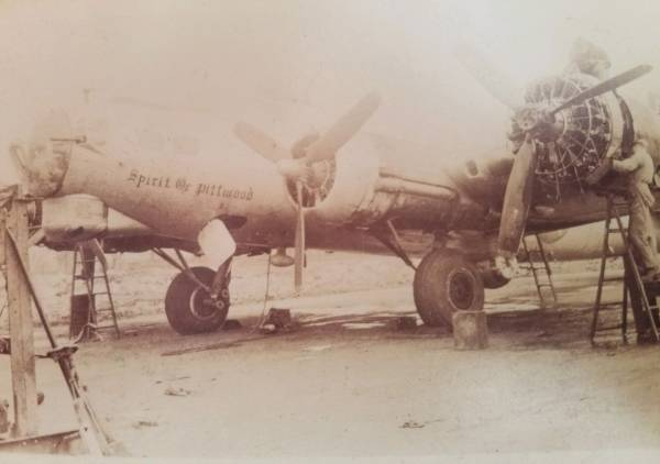 B-17 #44-6297 / Spirit of Pittwood