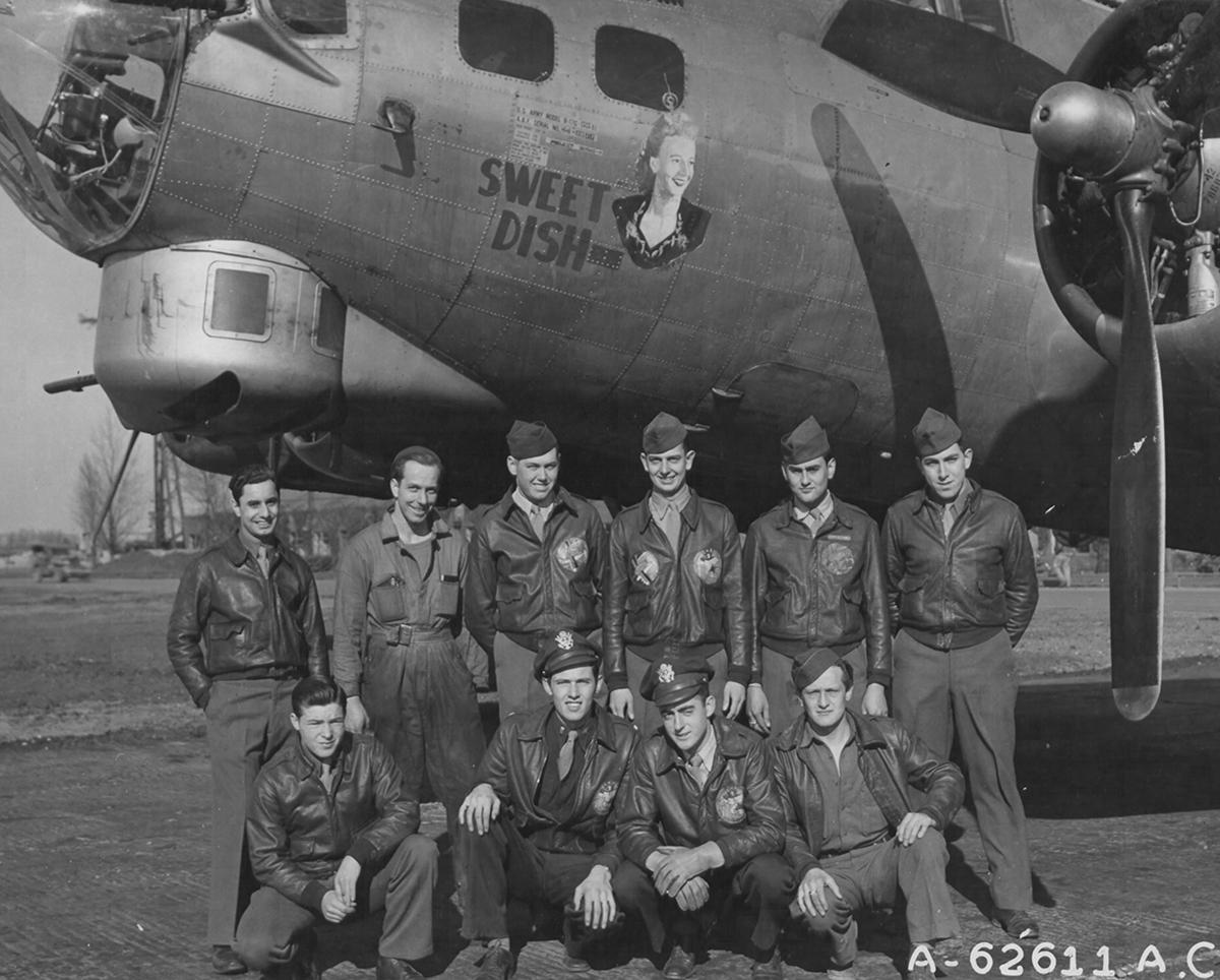 B-17 #44-6596 / Sweet Dish