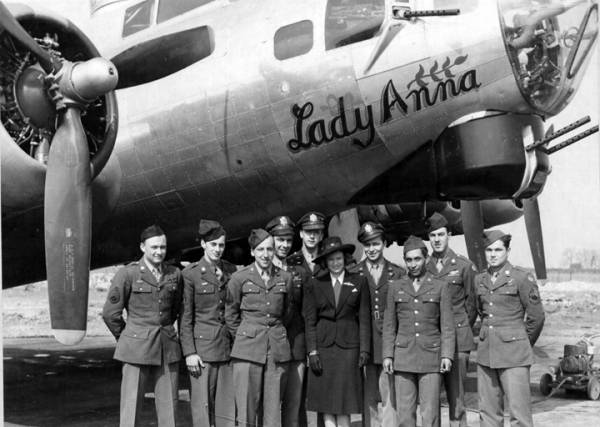 B-17 #44-83288 / Lady Anna aka The Grim Reaper