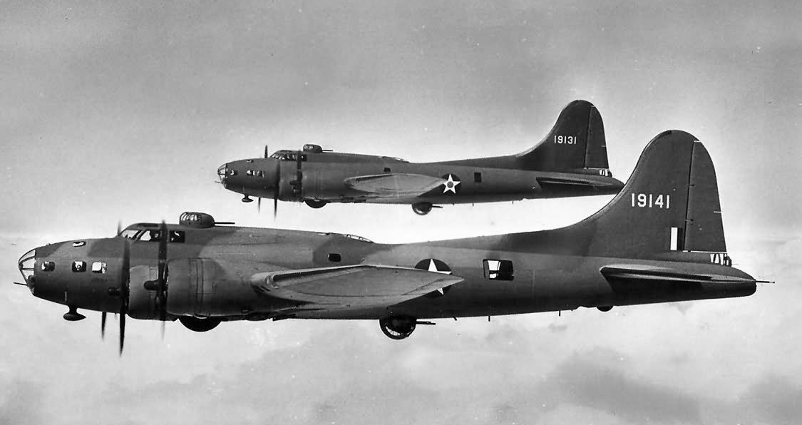 B-17 41-9131 & 41-9141