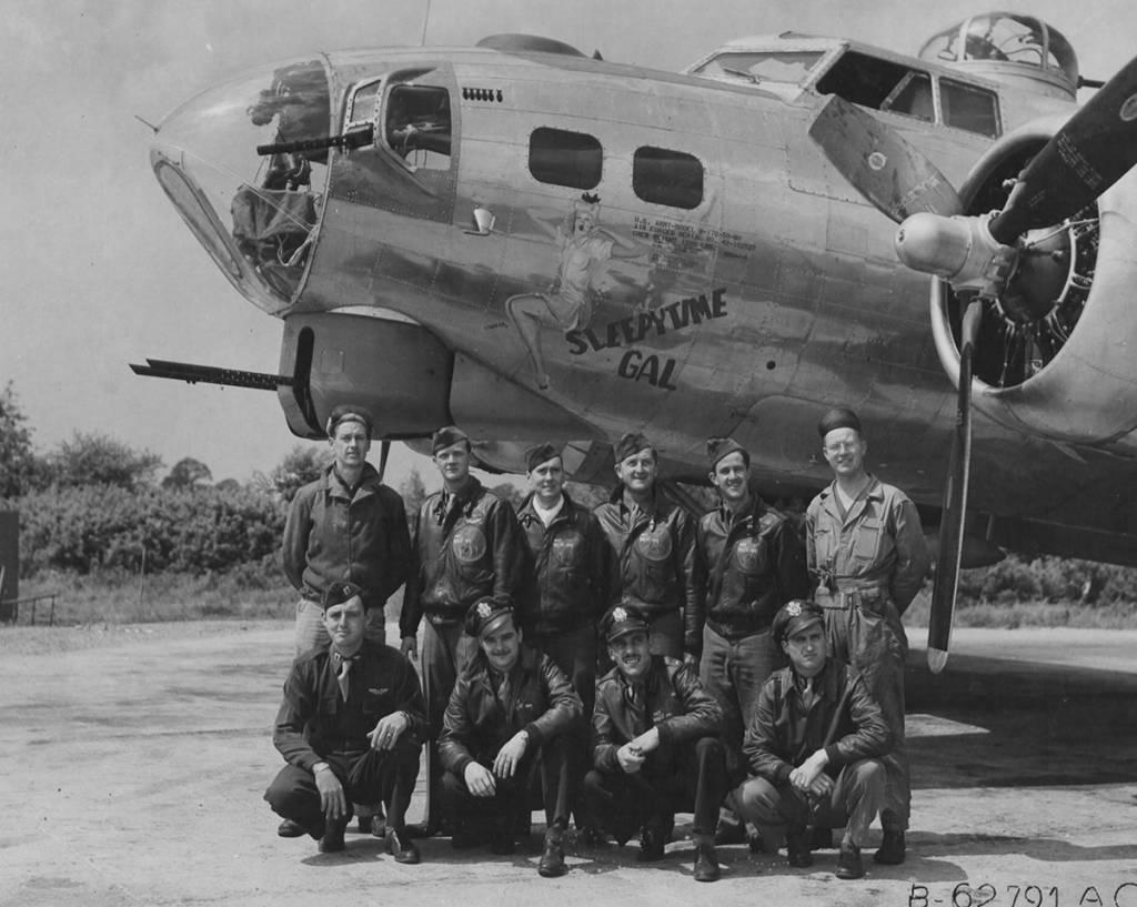 B-17 #42-102527 / Sleepytime Gal
