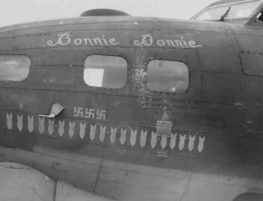 B-17 #42-31034 / Bonnie Donnie