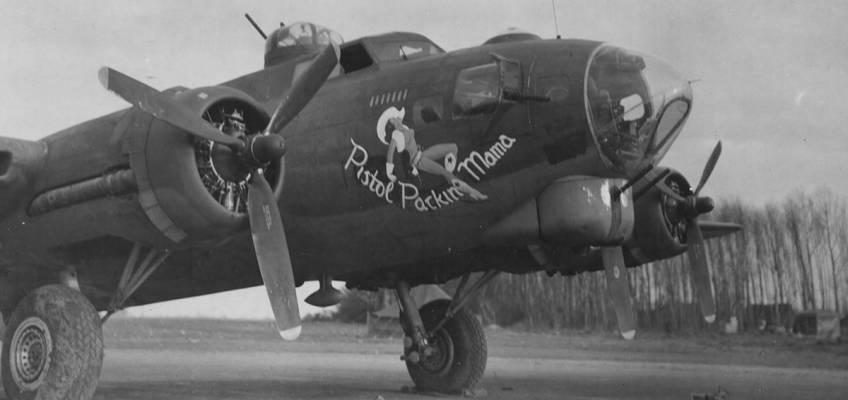 Boeing B-17 #42-31037 / Pistol Packin' Mama
