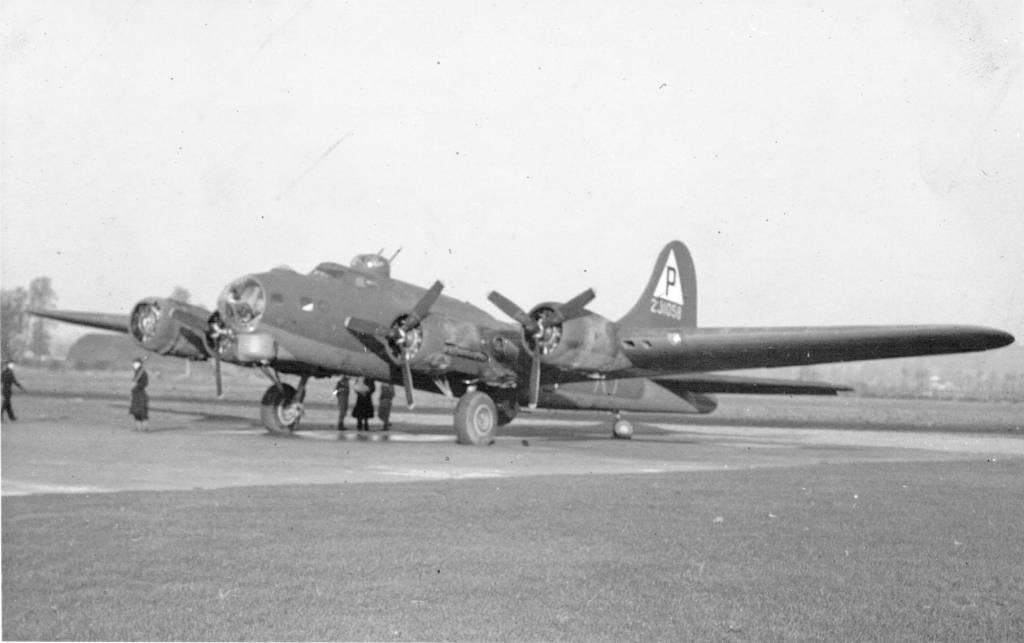 B-17 #42-31058 / Liberty Run