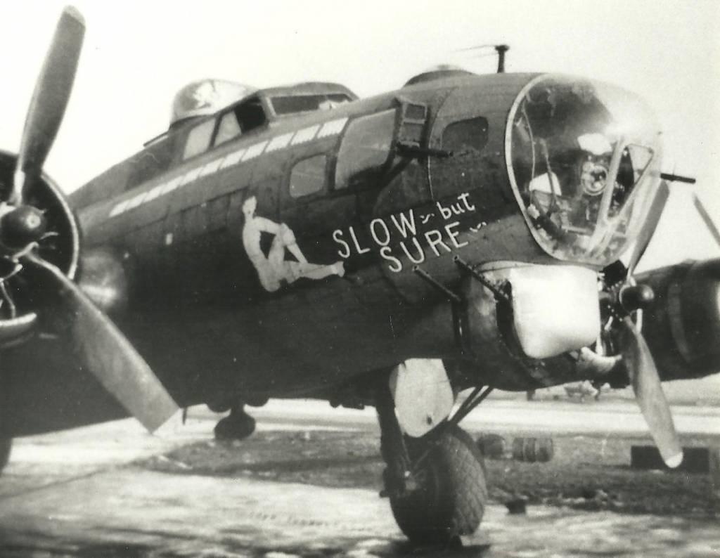 B-17 #42-31706 / Slow But Sure