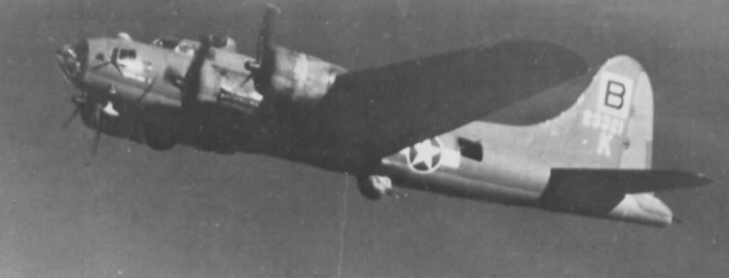 B-17 #42-3321 / Kathy Jane II