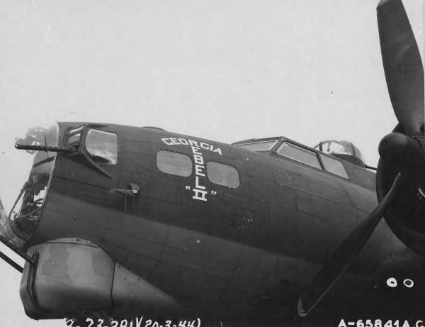 B-17 #42-38061 / Georgia Rebel II