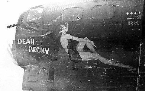 B-17 #42-38128 / Cutty Sark aka Red Alert aka Dear Becky