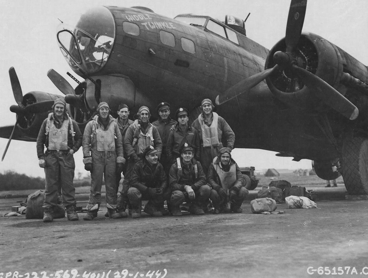 B-17 #42-39846 / Widdle Twinkle