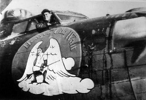 B-17 #42-39869 / Heaven Can Wait