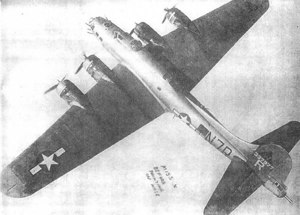 B-17 #43-37977 / Miss X