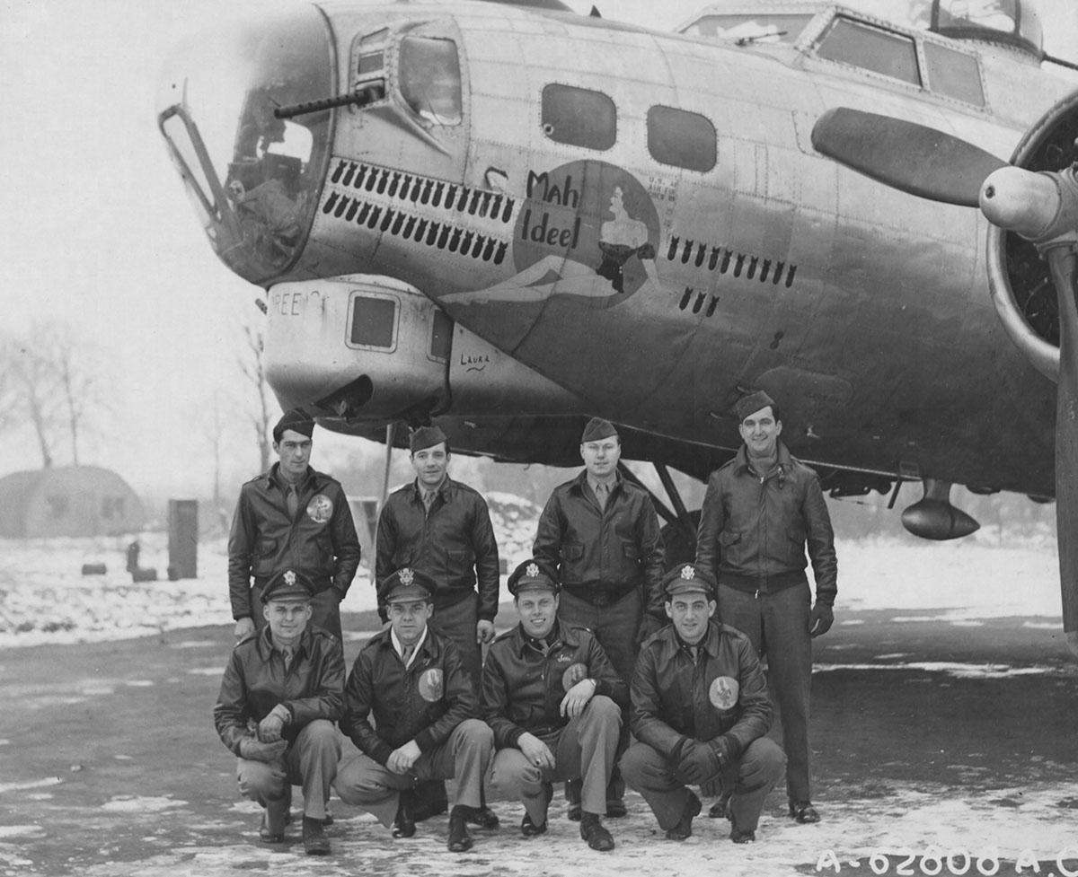 B-17 #43-37993 / Mah Ideel
