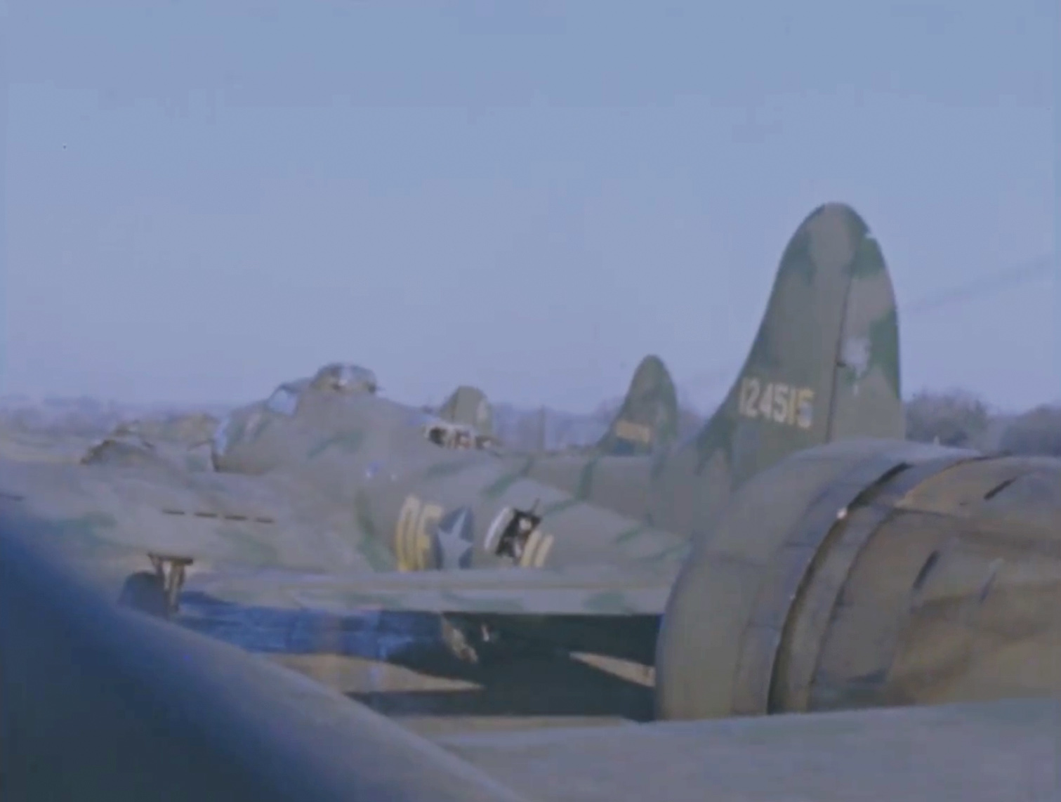 B-17 #41-24515 / Marie Jane
