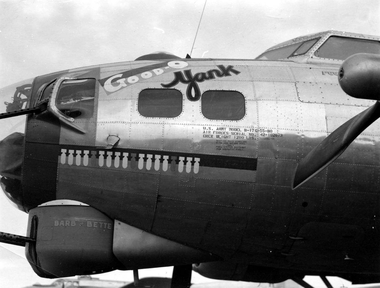 B-17 #42-102673 / Good Old Yank aka Preferred Risk