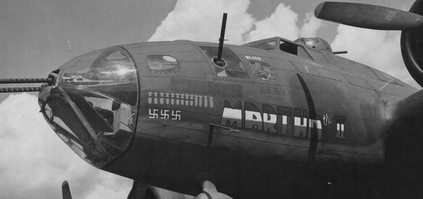 Boeing B-17 #42-29761 / Martha II