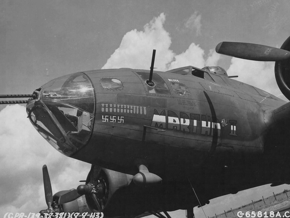 B-17 #42-29761 / Martha II